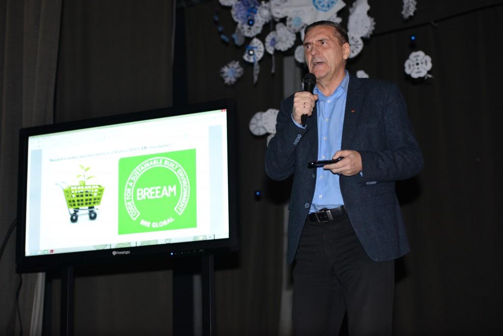 A. Kaušpėdas Balsių 25-mečio šventėje pristatė ateities centro projektą