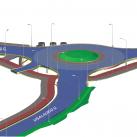 Taip atrodys Žaliųjų ežerų ir Visalaukio gatvių žiedinė sankryža