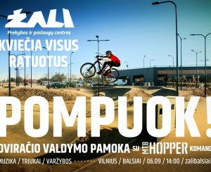 Velotrasoje – dviračio valdymo pamoka